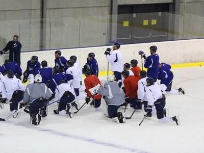 Tréning HC Slovan Bratislava