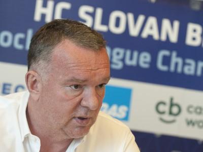 Športový riaditeľ HC Slovan