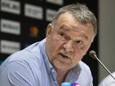 Športový riaditeľ Oldřich Štefl