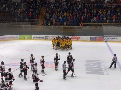 Hokejisti Bratislava Capitals v