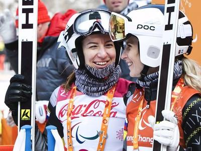 Henrieta Farkašová s navádzačkou Natáliou Šubrtovou