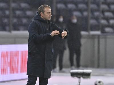 Tréner Bayernu Hansi Flick