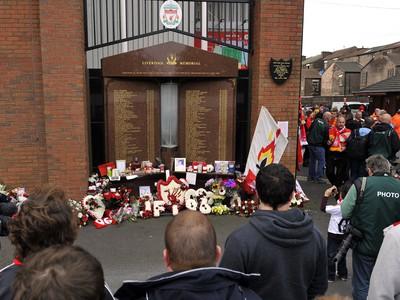 Pamätník tragédie pri štadióne