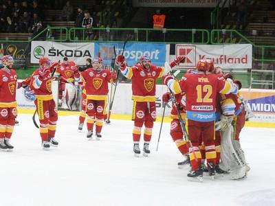 Radosť hráčov Trenčína