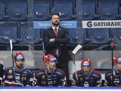 Tréner HKM Zvolen Andrej