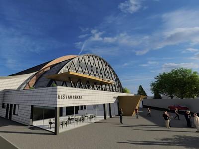 Vizualizácia hokejového štadióna v Banskej Bystrici