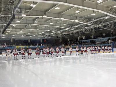Českí hokejisti v generálke