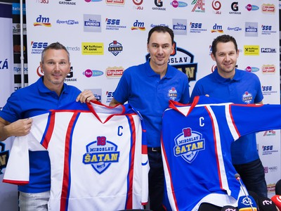 Ľubomír Višňovský, Miroslav Šatan a Ján Lašák