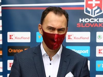 Miroslav Šatan na tlačovej