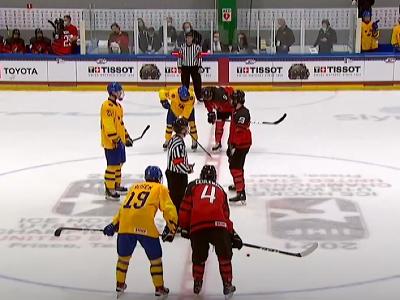 Súboj Kanady so Švédskom