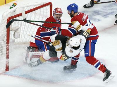 Montreal Canadiens zvíťazili nad Vegas Golden Knights