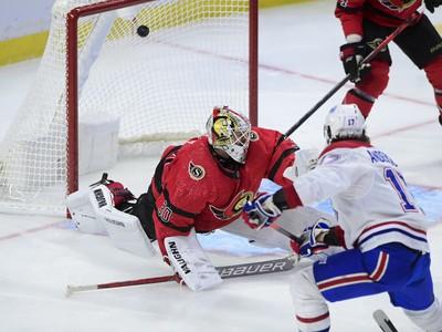 Zápas Montrealu Canadiens s Ottawou Senators