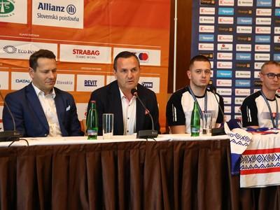Tlačová konferencia po úspechu slovenský parahokejistov
