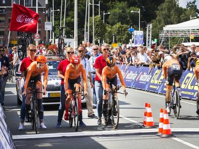Holandskí cyklisti (Ilustračné foto)