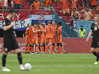 Radosť futbalistov Holandska