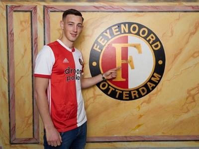 Róbert Boženík sa stal hráčom Feyenoordu Rotterdam