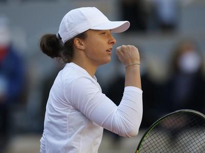 Poľská tenistka Iga Swiateková