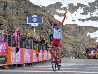 Ruský cyklista Ilnur Zakarin