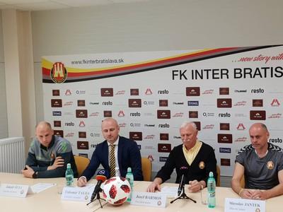 Tlačová konferencia Interu Bratislava