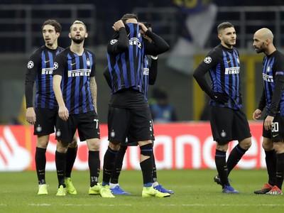 Sklamaní hráči Interu Miláno