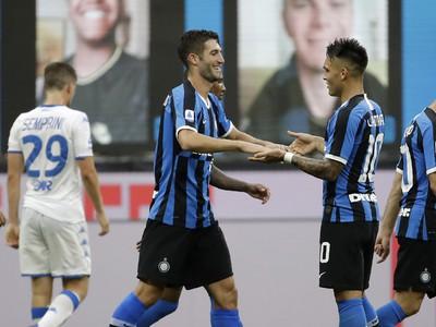 Radosť hráčov Interu