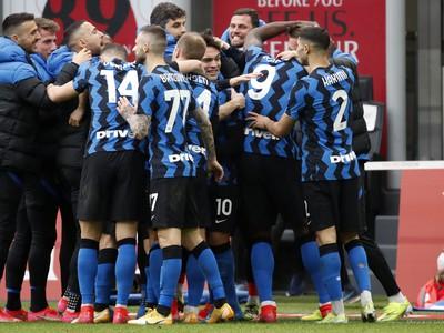 Radosť futbalistov Interu