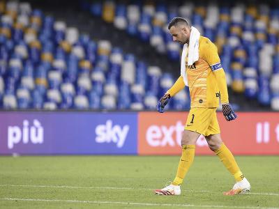 Brankár Interu Miláno Samir