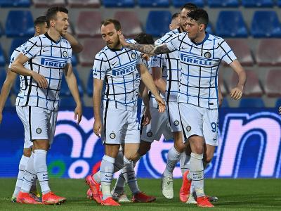 Gólová radosť hráčov Interu