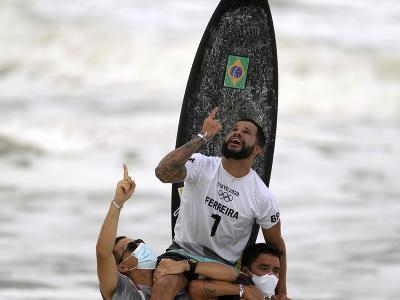 Brazílčan Italo Ferreira sa
