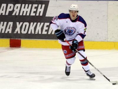 Hokejista CHK Junosť-Minsk Ivan