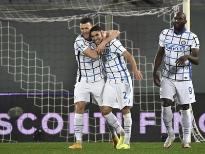 Hráči Interu sa tešia