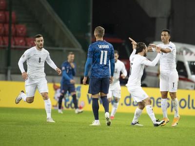 Radosť Izraelu góle Zahaviho