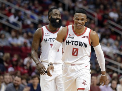 Russell Westbrook a James Harden