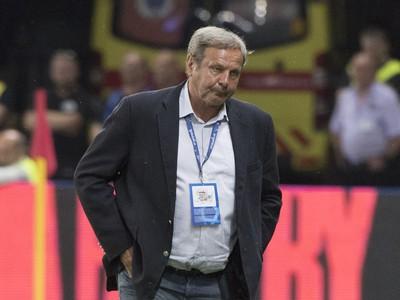 Tréner Slovenska Ján Kozák