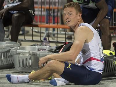 Na snímke slovenský atlét