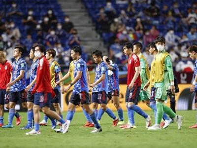 Futbalisti Japonska po prehre
