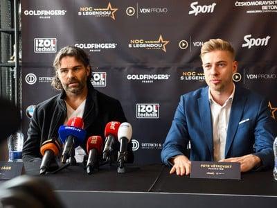 Jaromír Jágr a Petr Větrovský