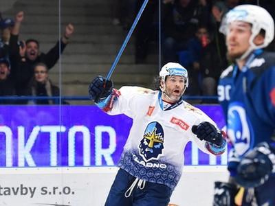 Jaromír Jágr oslavuje gól