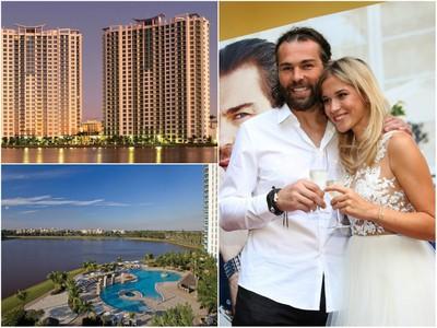Jaromír Jágr so svojou priateľkou Veronikou budú bývať v luxusnom rezorte