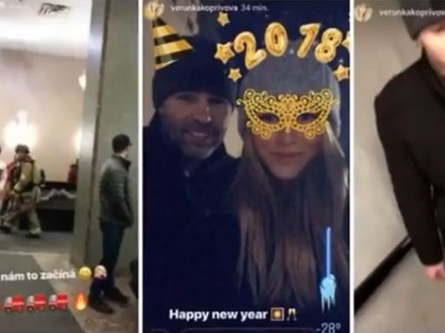 Jaromír Jágr a Veronika Kopřivová zažili nepríjemný vstup do nového roku