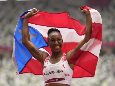 Portorická atlétka Jasmine Camachová-Quinnová