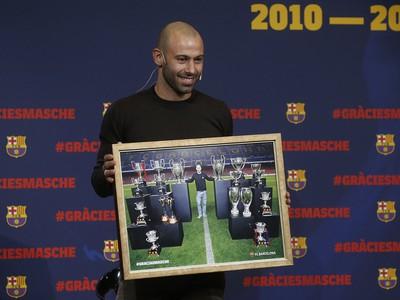 Javier Mascherano sa rozlúčil