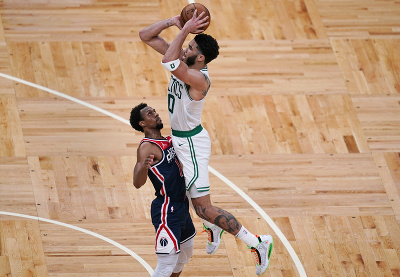 Hráč Bostonu Celtics Jayson