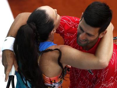 Jelena Jankovičová a Novak Djokovič