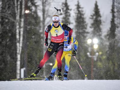 Nórsky biatlonista Johannes Thingnes Bö