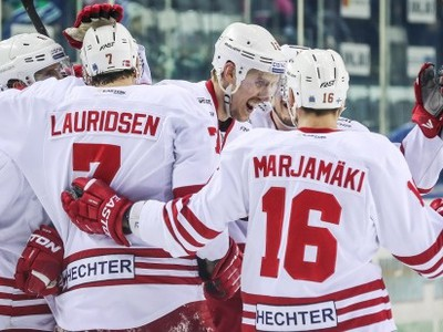 Radosť hráčov Jokeritu Helsinki