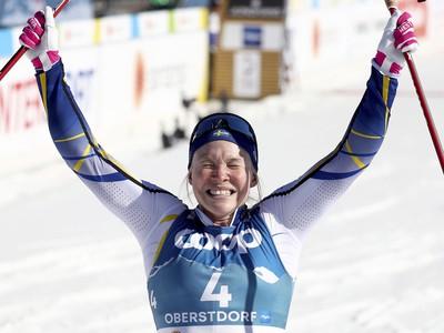 Jonna Sundlingová sa raduje