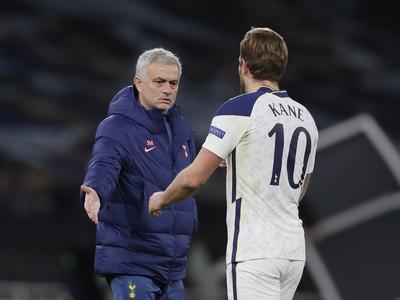 José Mourinho a Harry Kane