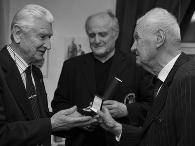 Josef Kadraba (vľavo)