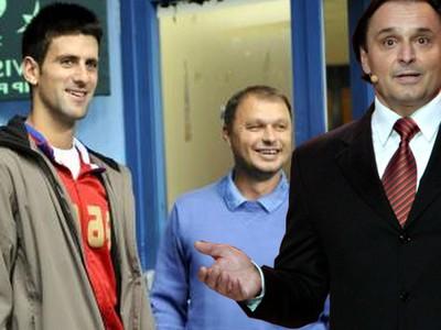 Jozef Vajda (vľavo) rozpráva